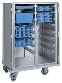 Hospital Instrument Trolley Two Column