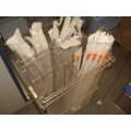 Catheter Trolley pull out basket