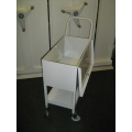 Lockable Medical Records Trolley